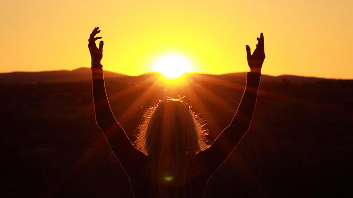 reverência ao sol